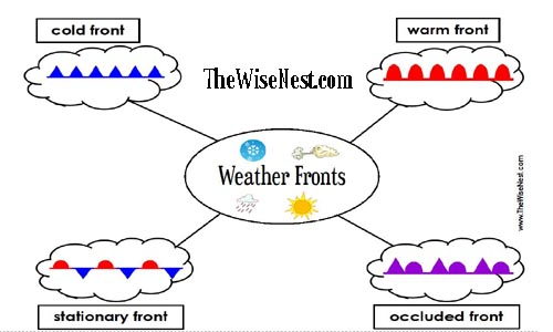 weather fronts to label the wise nest. Black Bedroom Furniture Sets. Home Design Ideas
