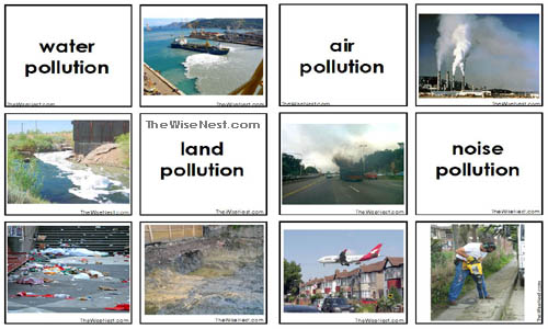 Image result for pollution types