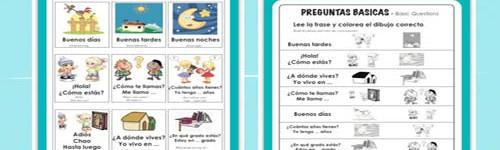 Spanish – Preguntas Basicas