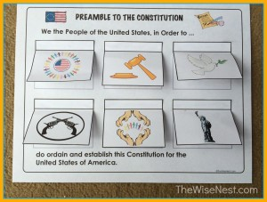 Worksheets Preamble Worksheet preamble to the constitution wise nest img 0528