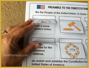 Worksheets Preamble Worksheet preamble to the constitution wise nest img 0529