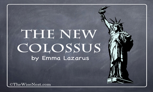 the new colossus by ezra lazarus