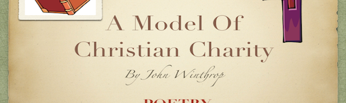 Poetry – A Model of Christian Charity